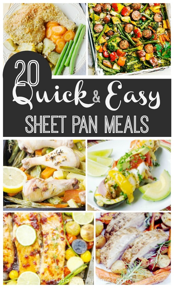 healthy sheet pan dinners