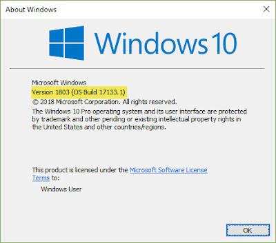 شرح تثبيت تحديث Windows 10 spring update بناء 1803