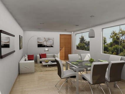 5 tips for integrating the living room and dining room 1