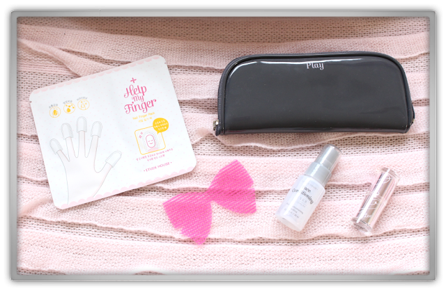 Etude House Haul Review accessories decor kawaii cute pink ebay beauty korean cosmetics samples play pouch