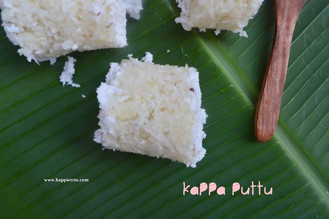 Kappa Puttu Recipe | Tapioca Puttu | Maravalli Kizhangu Puttu