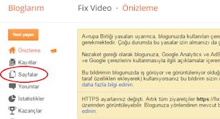 blogger sayfa oluşturma