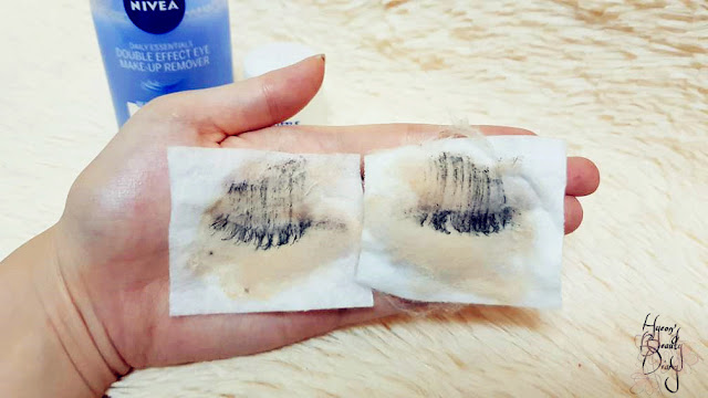 Review; Nivea's Double Effect Eye Make-Up Remover