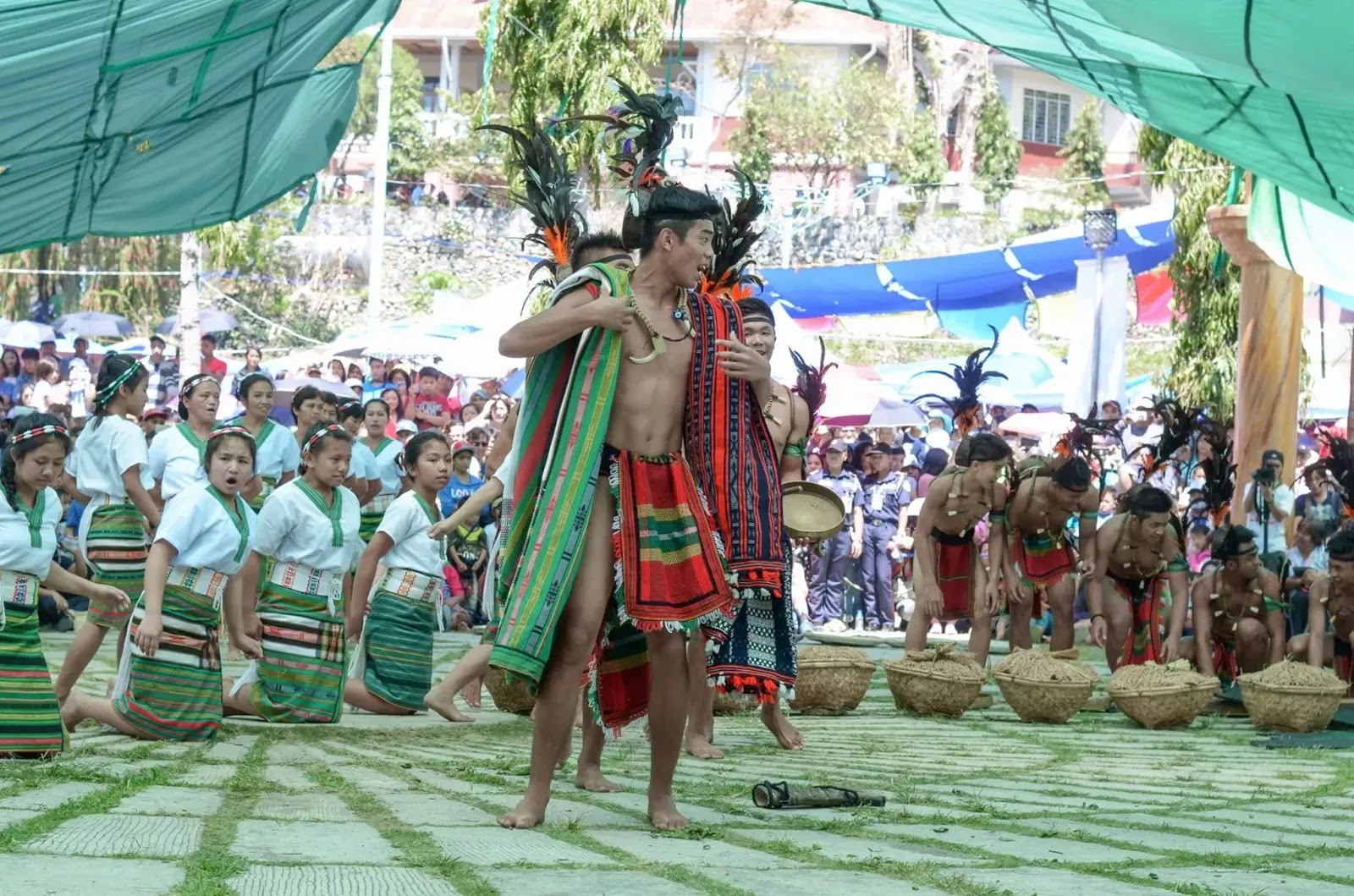 A Leader's Call 13th Lang-Ay Festival Bontoc Mountain Province Cordillera Administrative Region Philippines