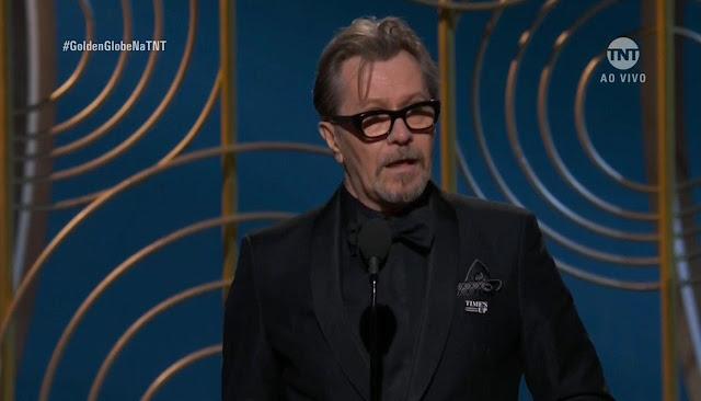 Gary Oldman ganha o prêmio de Melhor Ator de Filme de Drama no Globo de Ouro 2018 | Ordem da Fênix Brasileira