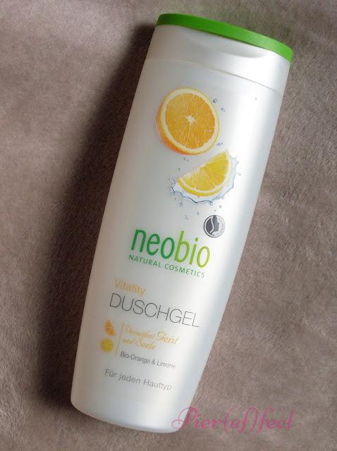 neobio gel doccia arancio e lime