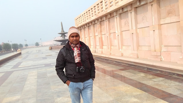 a walk in ambedkar park