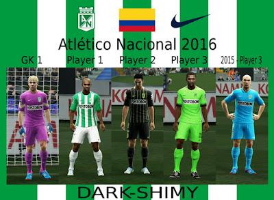 Atletico Nacional 2016 update 1