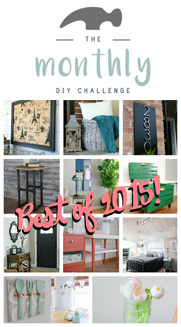 Monthly DIY Challenge- Best of 2015
