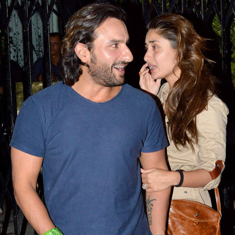 Kareena Kapoor Photos With Saif Ali Khan Without Makeup Face