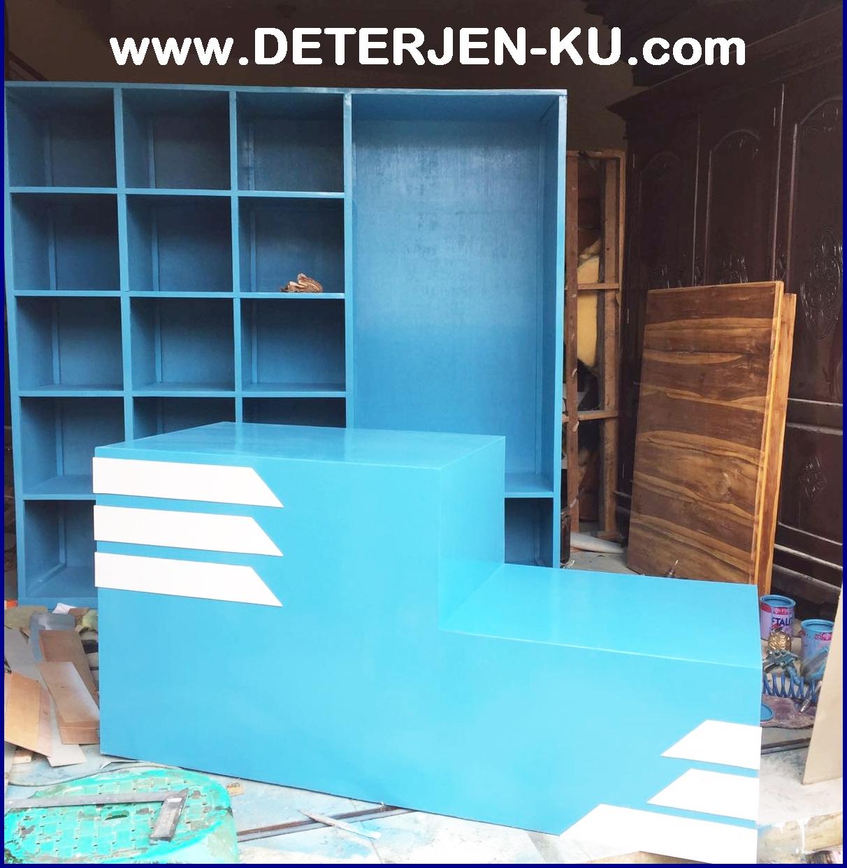 Furniture Laundry Meja Lemari Deterjens Solution Pakaian Baju Rak Kain