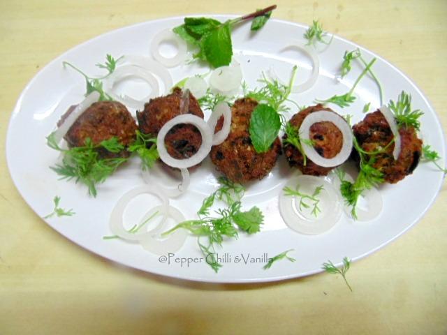 kache kheeme ke kabab recipe