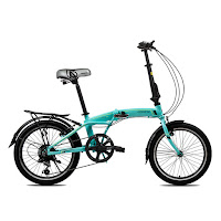 20 pacific veloce 10 alloy folding bike