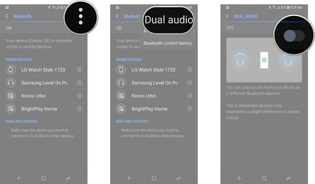Fitur Dual Audio di Galaxy S8 dan Galaxy S8 Plus