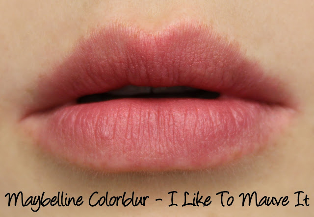 Maybelline Colorblur - I Like To Mauve It Swatches & Review