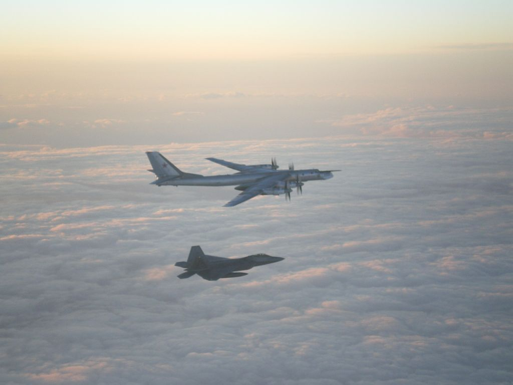 Russia Says Fighter Jet Intercepts US Bomber On