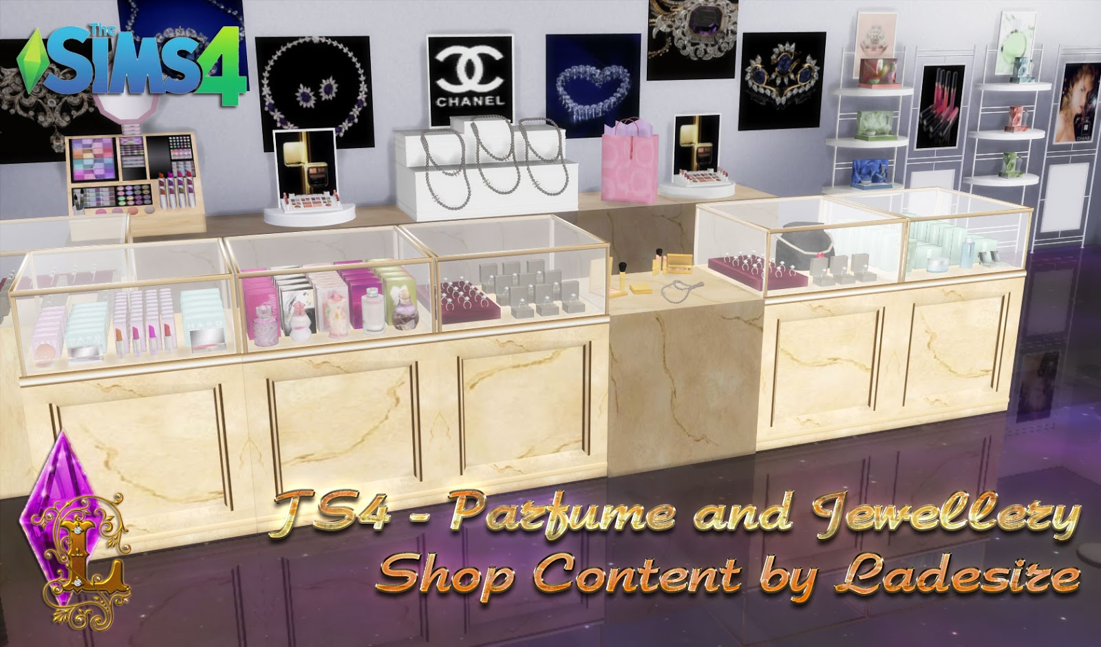 Sims 4 beauty shop