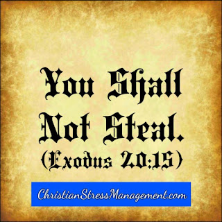 The eighth 8 commandment You shall not steal Exodus 20:15