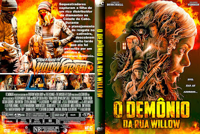 Filme O Demônio da Rua Willow (From a House on Willow Street) DVD Capa