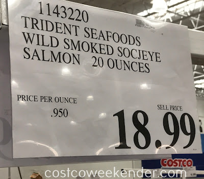 Deal for Wild Alaskan Smoked Sockeye Salmon at Costco