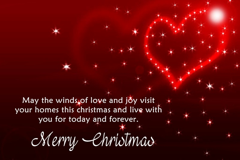 Beautiful Merry Christmas Love Quotes And Sayings   Merry Christmas 2016 U0026.