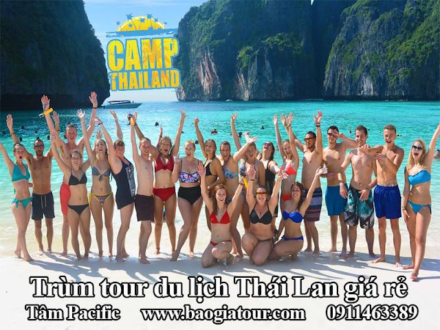 Trùm tour du lịch Thái Lan giá rẻ bắt đầu đổ bộ vào ngành du lịch hè