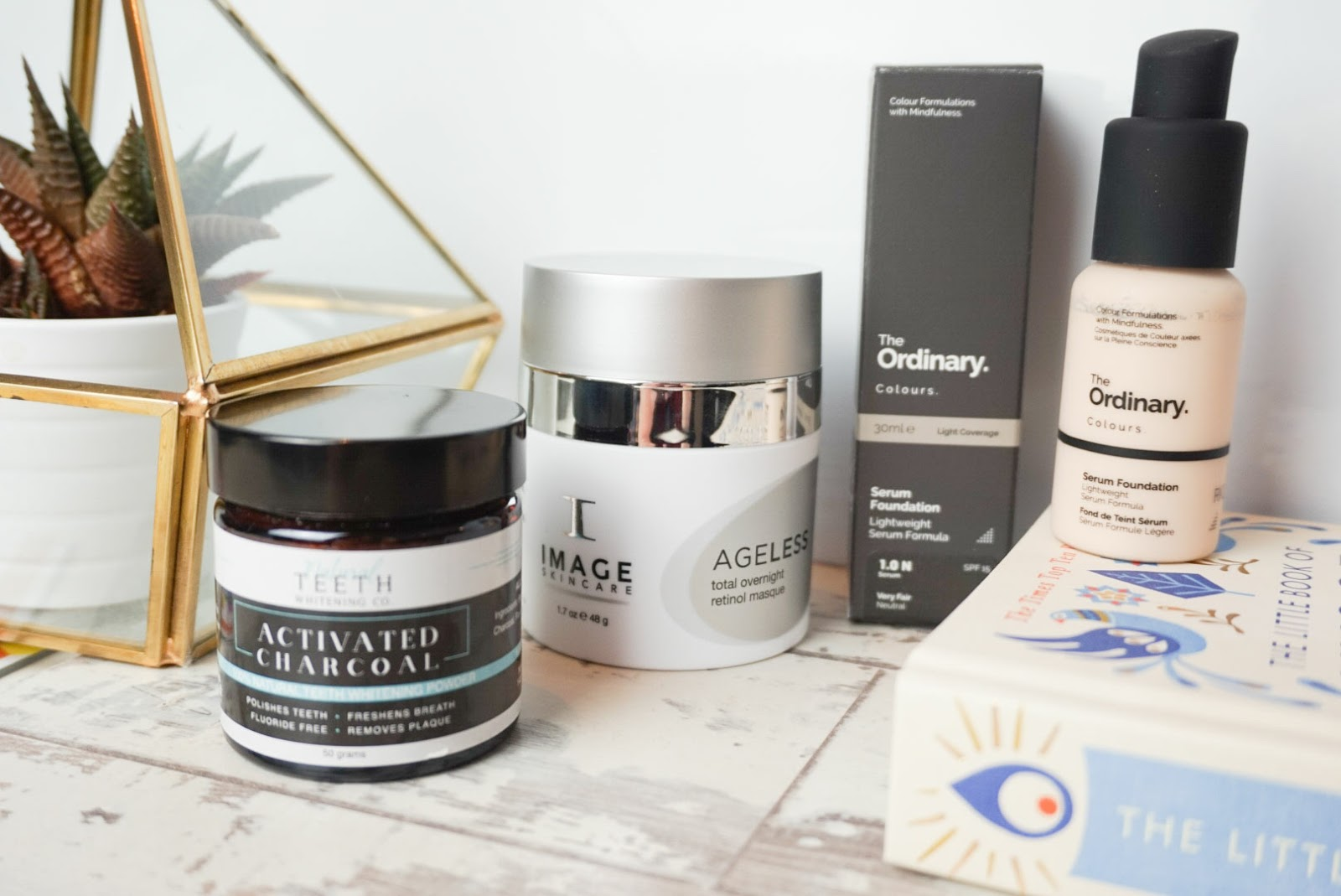 Image Skincare The Ordinary Foundation Charcoal Toothpaste