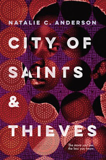 City of Saints & Thieves by Natalie C. Anderson book cover
