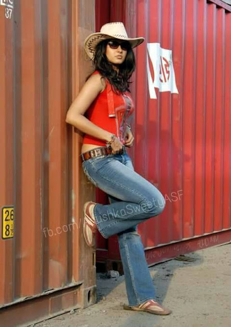 Actress Anushka Shetty Rare Photo