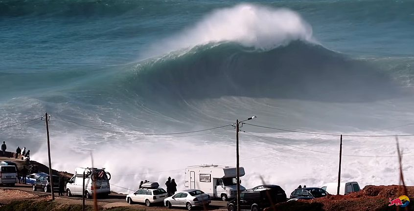 Relive the greatest waves Nazaré has to offer Sessions