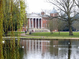 Osterley Park from across the lake