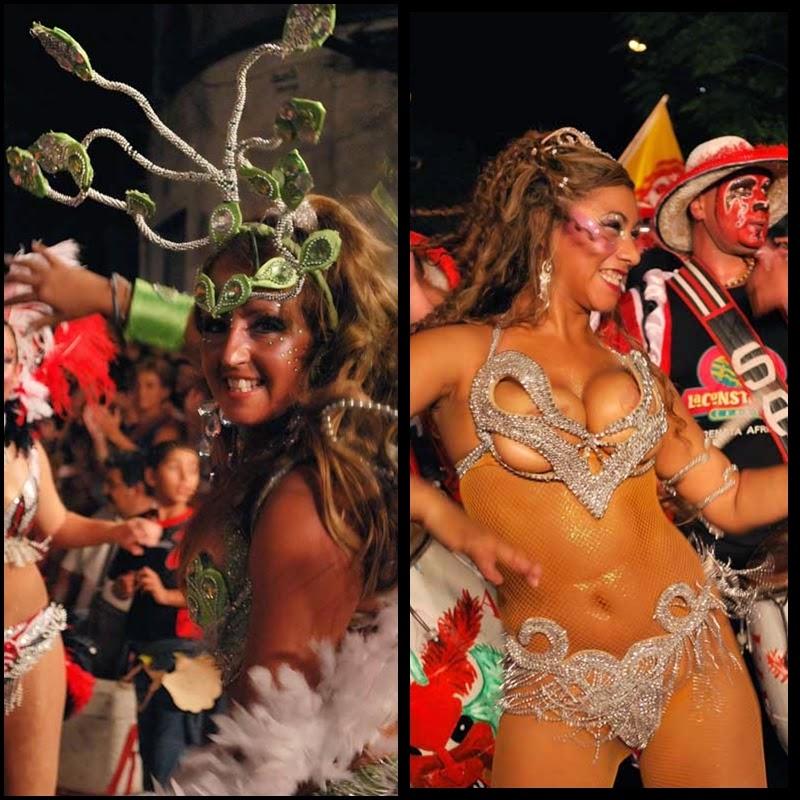 Carnaval. Desfile de Llamadas. Montevideo.Serenata Africana. 2010.