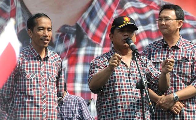 Tidak Tahu Diuntung, Modal Pilgub Jokowi Dibiayai dari Lahan Prabowo