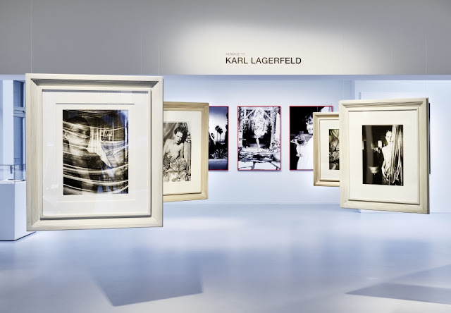 """Homage to Karl Lagerfeld"" Exhibition at Galerie Gmurzynska"