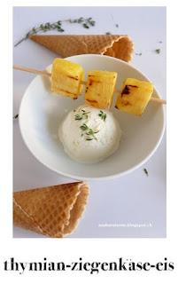 Thymian Eis, Ziegenkäse Rezept, Foodblog Schweiz
