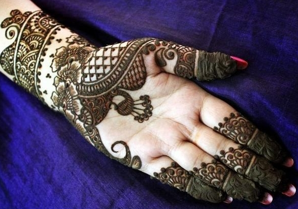 Eid Mehndi Designs Collection For Women and Girls
