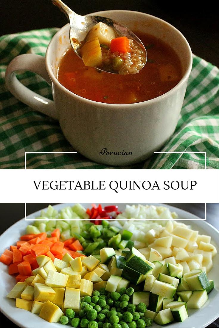 soup thick vegetable soup vegetable farro soup quinoa vegetable soup ...