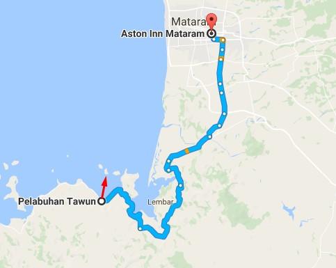 Aston Inn Mataram ke Gili Nanggu