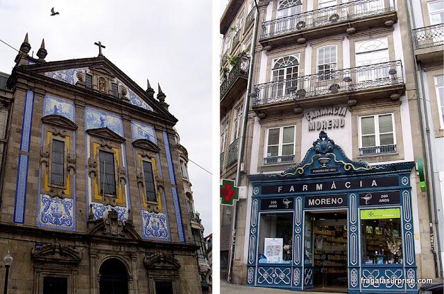 Azulejos portugueses na Cidade do Porto