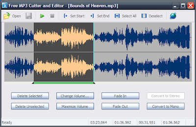Download Free MP3 Cutter and Editor