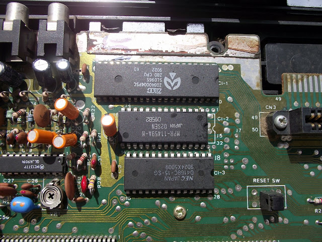 CPU do Master System TecToy