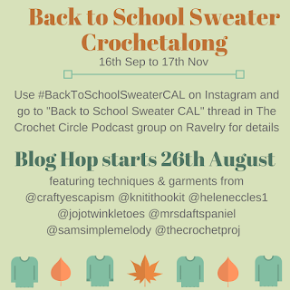 Back to school sweater CAL