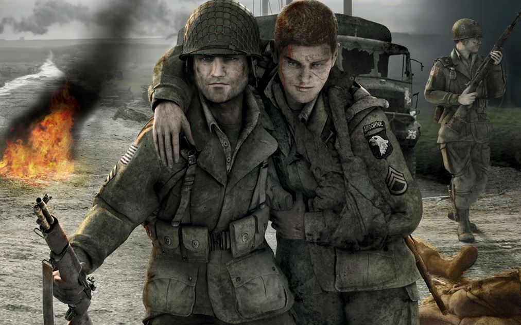 تحميل لعبة brothers in arms للاندرويد