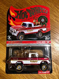 Hot Wheels RLC Texas Drive 'Em Reindeer