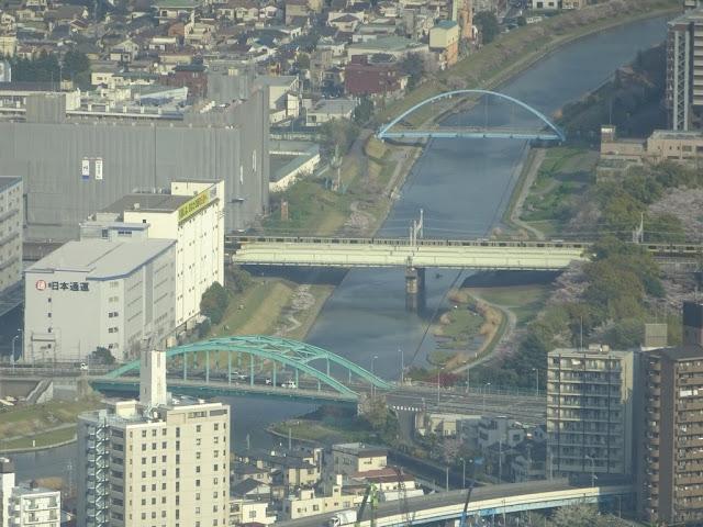 TÓQUIO - As Pontes vistas de SKY TREE