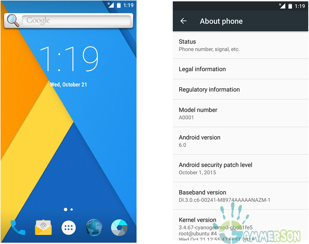 [CM13] Download Cyanogenmod 13 for Oneplus One Android ...