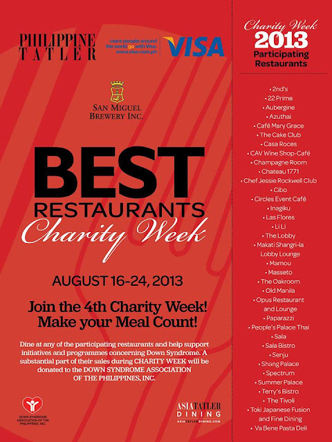 Restaurants That Donate Food To Charity Events