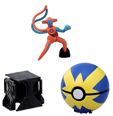 Deoxys figure normal form super size Tomy Super Pokemon Getter Deoxys set
