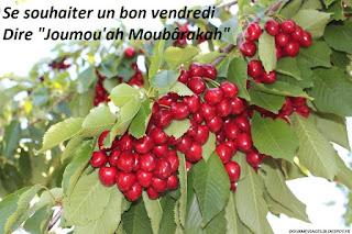 """Se souhaiter un bon vendredi Dire """"Joumou'ah Moubârakah"""""""
