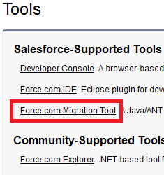 Infallible Techie: ANT setup for Salesforce Migration